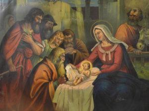 Maria und Josef.